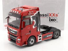 MAN TGX XXL Sattelzugmaschine Lion Pro Edition 2018 rot 1:18 Premium ClassiXXs