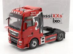 MAN TGX XXL Truck Lion Pro Edition 2018 rouge 1:18 Premium ClassiXXs