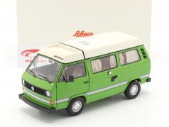 Volkswagen VW T3a Joker Camper С участием Складная крыша зеленый 1:18 Schuco