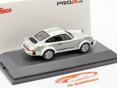 Porsche 911 Walter Röhrl x911 白色的 / 黑色的 1:43 Schuco