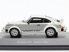 Porsche 911 Walter Röhrl x911 белый / чернить 1:43 Schuco