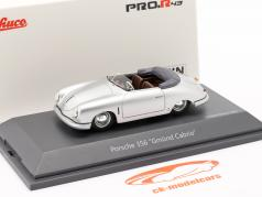 Porsche 356 Gmünd Кабриолет серебро 1:43 Schuco