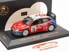 Citroen Xsara WRC #19 ралли Monte Carlo 2003 Sainz, Marti 1:43 Ixo