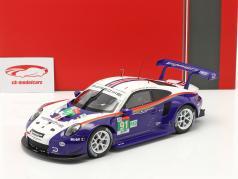 Porsche 911 (991) RSR #91 2. plads LMGTE Pro 24h LeMans 2018 1:18 Ixo/ 2. valg