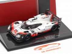 Porsche 919 Hybrid #2 vinder 24h LeMans 2017 Bernhard, Hartley, Bamber 1:43 Ixo