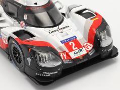 Porsche 919 Hybrid #2 gagnant 24h LeMans 2017 Bernhard, Hartley, Bamber 1:18 Ixo