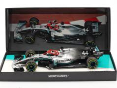 L. Hamilton Mercedes-AMG F1 W10 #44 Monaco GP F1 World Champion 2019 1:18 Minichamps