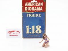 Bikini Car Wash Girl Alisa 図 1:18 American Diorama
