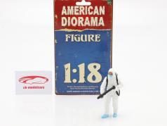 図 1 Hazmat Crew 1:18 American Diorama