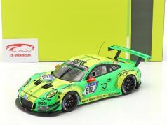 Porsche 911 (991) GT3 R #912 vinder 24h Nürburgring 2018 Manthey Grello 1:18 Ixo