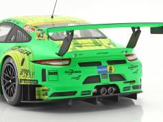 Porsche 911 (991) GT3 R #912 勝者 24h Nürburgring 2018 Manthey Grello 1:18 Ixo