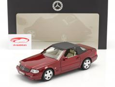 Mercedes-Benz 500 SL (R129) Facelift 1998-2001 amber red 1:18 Norev