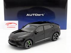 Lamborghini Urus 建設年 2018 黒 1:18 AUTOart