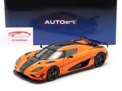 Koenigsegg Agera RS year 2015 orange / carbon 1:18 AUTOart