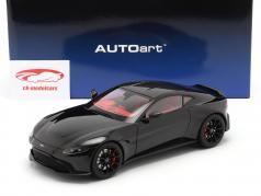 Aston Martin Vantage 建設年 2019 黒 1:18 AUTOart