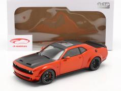 Dodge Challenger SRT Hellcat Redeye Widebody 2020 orange 1:18 Solido