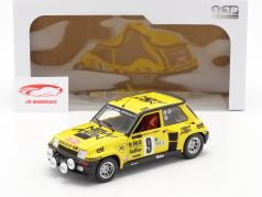 Renault 5 Turbo #9 5位 Rallye Monte Carlo 1982 Saby, Sappey 1:18 Solido