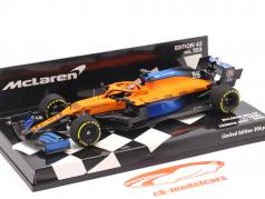 Carlos Sainz jr. McLaren MCL35 #55 Launch Spec formula 1 2020 1:43 Minichamps