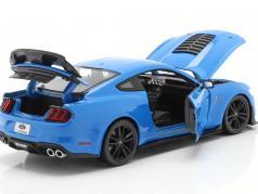 Ford Mustang Shelby GT500 Anno di costruzione 2020 blu 1:18 Maisto