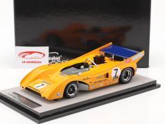 McLaren M8F #7 Winner Watkins Glen Can-Am Series 1971 P. Revson 1:18 Tecnomodel
