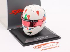 Lando Norris McLaren F1 Team #4 第五名 英式 GP 公式 1 2020 头盔 1:5 Spark