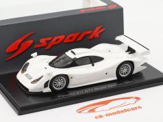 Porsche 911 GT1 Street Version 1998 白色的 1:43 Spark