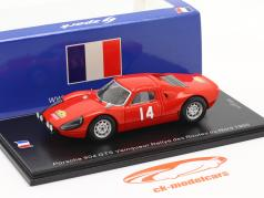 Porsche 904 Carrera GTS #14 优胜者 Rallye des Routes du Nord 1965 1:43 Spark