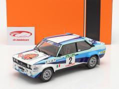Fiat 131 Abarth #2 2-й Rallye Португалия 1980 Alen, Kivimaki 1:18 Ixo