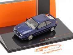 Volkswagen VW Corrado G60 Ano de construção 1989 azul escuro 1:43 Ixo