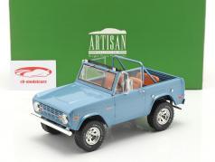 Ford Bronco Sport Byggeår 1969 Lyseblå 1:18 Greenlight