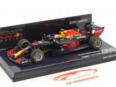 M. Verstappen красный Bull Racing RB16 #33 Победитель 70-е Годовщина GP F1 2020 1:43 Minichamps