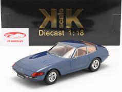 Ferrari 365 GTB/4 Daytona Coupe 2. Serie 1971 blau metallic 1:18 KK-Scale