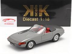 Ferrari 365 GTB/4 Daytona Convertible Series 2 1971 grey metallic 1:18 KK-Scale