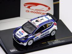 Ford Fiesta S2000 #2 Hirvonen, Lehtinen Rallye Monte Carlo 2010 1:43 Ixo / 2. Wahl