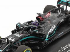 Lewis Hamilton Mercedes-AMG F1 W11 #44 formule 1 Wereldkampioen 2020 1:43 Minichamps
