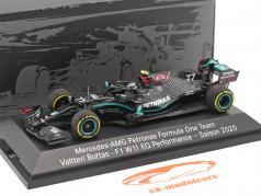 Valtteri Bottas Mercedes-AMG F1 W11 #6 формула 1 2020 г. 1:43 Minichamps
