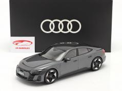 Audi RS e-tron GT year 2021 Daytona grey 1:18 Norev