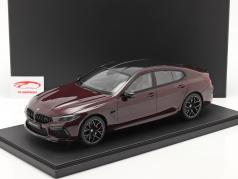 BMW M8 Gran Coupe Byggeår 2020 ametrin rød metallisk 1:12 Kyosho