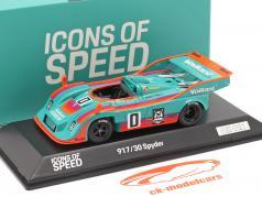 Porsche 917/30 Spyder #0 winnaar Interserie 1975 H. Müller 1:43 Spark
