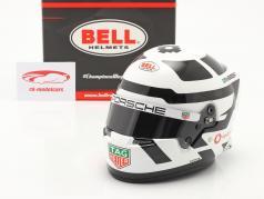 Andre Lotterer #36 TAG Heuer Porsche 公式 E 2020/21 头盔 1:2 Bell
