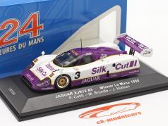 Jaguar XJR-12 #3 优胜者 24h LeMans 1990 Nielsen, Cobb, Brundle 1:43 Ixo