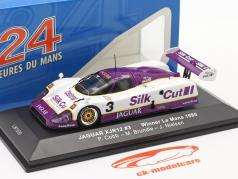 Jaguar XJR-12 #3 ganador 24h LeMans 1990 Nielsen, Cobb, Brundle 1:43 Ixo