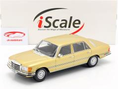 Mercedes-Benz S-klasse 450 SEL 6.9 (W116) 1975-1980 guld 1:18 iScale