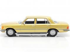 Mercedes-Benz Classe S 450 SEL 6.9 (W116) 1975-1980 ouro 1:18 iScale
