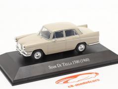 Siam Di Tella 1500 Riley 4 year 1960 beige 1:43 Altaya