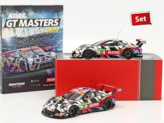 Iron Force Fan-Set: 2x Porsche 911 (991) GT3 R #69 С участием книга 1:18 Ixo