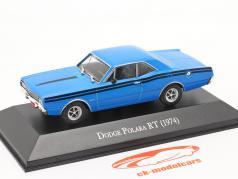 Dodge Polara RT year 1974 blue 1:43 Altaya