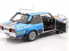 Fiat 131 Abarth #10 winnaar Rallye Monte Carlo 1980 Röhrl, Geistdörfer 1:18 Solido