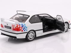 BMW M3 (E36) Coupe Lightweight Byggeår 1990 hvid 1:18 Solido