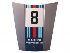 Capot avant Porsche 911 Modèle G #8 Martini Racing conception